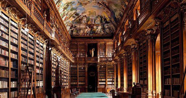 Thư viện Strahov, Prague, Cộng hòa Séc